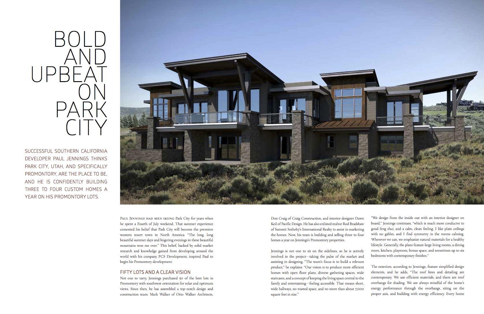 Western Home Journal Summer 2014